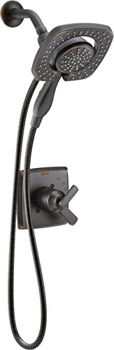 Delta T17264-RB-I Ashlyn Monitor 17 Series Shower Trim with In2ition Two-in-One Handshower Showerhead, Venetian Bronze (Delta Shower Valve Kit compare prices)