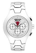 Chicago Bulls Hall Of Fame Sterling Silver Watch