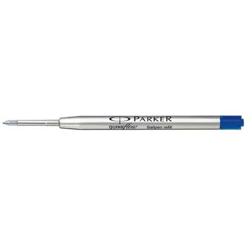 Impression Parker-Recharge pour stylo à bille à pointe Fine Bleu Réf S0909540 Lot de 12