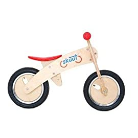 Skuut Kids Wooden Balance Bike - NOVL2110