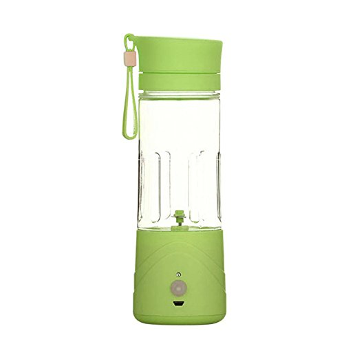 BENKS 380ML Portable USB Electric Fruit Juicer Cup Vegetable Citrus Blender Juice Extractor Ice Crusher (Green) (Individual Juicer compare prices)