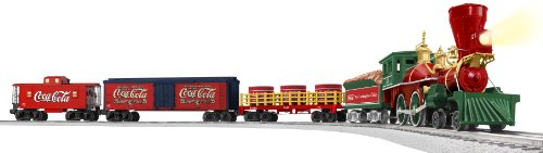 Lionel Coca-Cola 125th Anniversary Vintage Steam O-Gauge Train Set