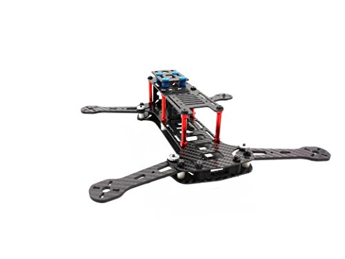 Usmile 260 folding miniquad 3K Carbon Fiber Folding Quadcopter Frame Kit