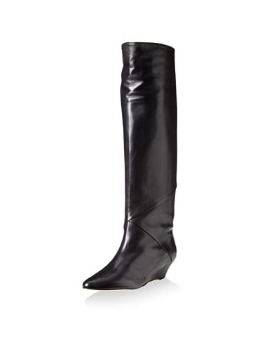 Claudia Ciuti Women's Diora Wedge Boot  – Black