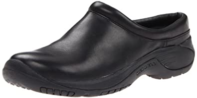 Merrell Men's Encore Gust Slip-On Shoe,Smooth Black Leather,7 M US