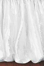 Balloon Bedskirt Extra-Long - White front-199022