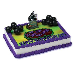 Grim Reaper Figure Over the Hill Cake Decorating Kit