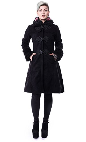 Poizen Industries -  Cappotto  - Donna nero S