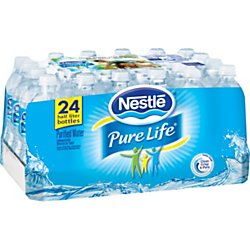 Nestle Pure Life, Purified Water , 24 pack 16.9 oz each (Drinking Water Cases compare prices)