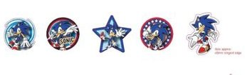 Sonic the Hedgehog Gacha Magnets - Magnet Set: Sonic (5 Magnete)