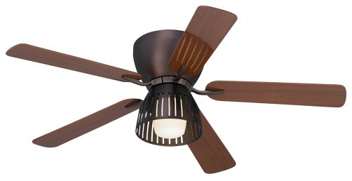 "52"" Overture Oil-Brushed Bronze Hugger Ceiling Fan"