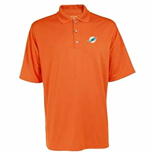 Miami Dolphins Exceed Polo (Team Color) by Antigua
