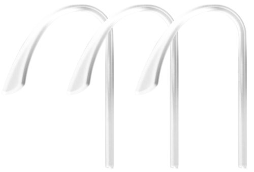 Blueant Sp-093749-62 Clear Plastic Ear Hook For T1/V1X/V1/Z9I/Z9 Bluetooth Headsets - Pack Of 3 - Retail Packaging - Clear