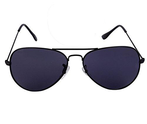 a5fa832d54 41% OFF on SHVAS AVIATOR Black Sunglasses - UNISEX (Black) on Amazon ...
