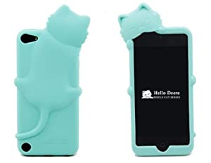 icase mall  baby blue lovely kiki cat silicone case cover ihome ih9 no sound ihome ih9