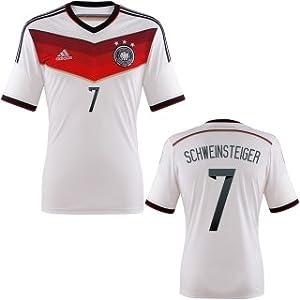 adidas Trikot DFB Fanshop Deutschland Home Schweinsteiger, Weiß, M, D04259