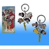 Japanese Animation Inuyasha 5pcs a Set, Strap, Charm, Keychain, 2 Design, Randomly Pick, Clearance!