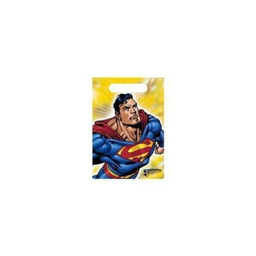 Superman Loot Bags 8 Count - 1