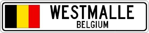 westmalle-belgium-belgium-flag-city-sign-9x36-quality-aluminum-sign