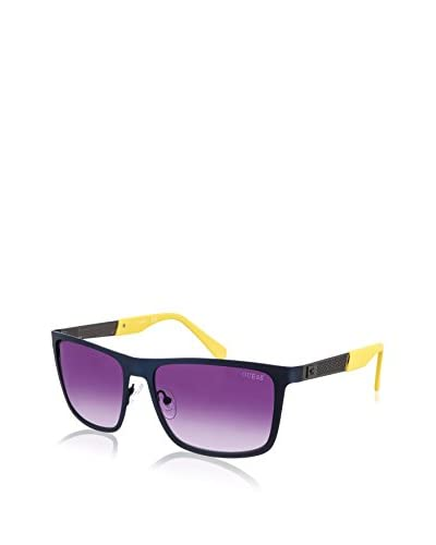 Guess Occhiali da sole 6842-91B (57 mm) Blu Navy/Giallo
