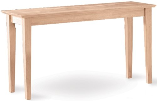 Cheap International Concepts Shaker Console Table (OT-9S)