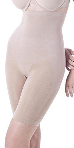 Lipo in a Box Firm Control Highwaist Mid Thigh Brief 1659101 Nude Medium