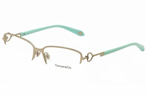 548558320f2 Tiffany   Co Eyeglasses Twist Keys TF1106 TF 1106 6037 Silver Optical Frame  54mm
