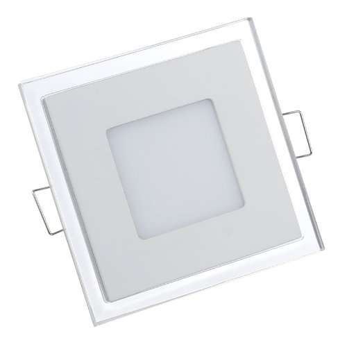 S6Store® 10W Ac100~265V Square Warm White Acrylic Crystal Led Panel Recessed Ceiling Downlight Bulb Lamp