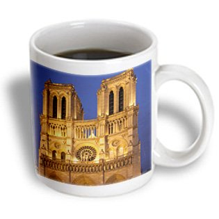 Danita Delimont - Cathedrals - Twilight At Cathedral Notre Dame, Paris, France - Eu09 Bjn0612 - Brian Jannsen - 11Oz Mug (Mug_136323_1)