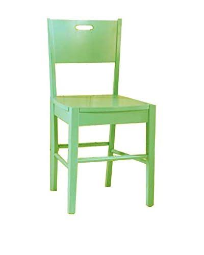 Ontwerp Twist Bureaustoel groen geschilderd