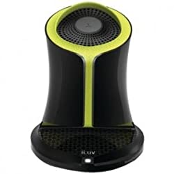 iLuv Syren NFC-Enabled Wireless Bluetooth Portable Speaker (Green)