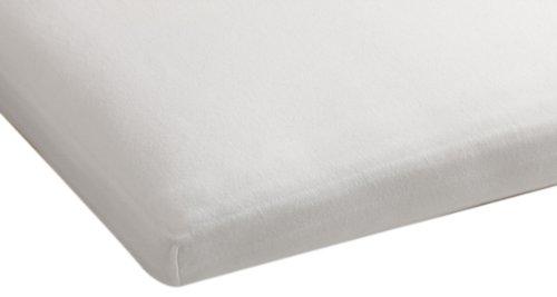 Beddinghouse Jersey mit Lycra Split-Topper-Spannbettlaken / 180/200*200/220 cm / Weiß jetzt bestellen