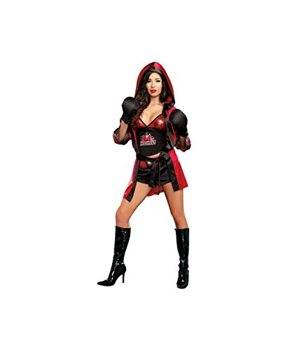 Boxing Total Knockout Boxer Womens Sexy Fight Halloween Costume