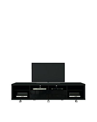 Manhattan Comfort Cabrini TV Stand 2.2, Black