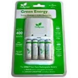 iGo Green Energy Battery Charger with 4x Rechargeable AA Batteries