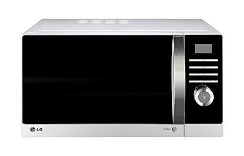 LG MH6882APS Microonde con grill Piano di lavoro 28L 900W Nero, Argento forno a microonde