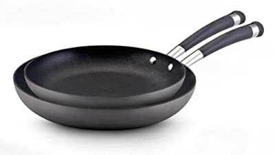 Circulon Acclaim Hard Anodized Nonstick 8-Inch and 10-Inch Twin Pack Skillet Set
