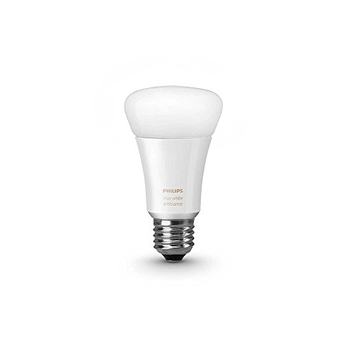Philips 461020 Hue White Ambiance Single A19 Bulb, Works with Amazon Alexa (Hue A19 Starter Kit compare prices)