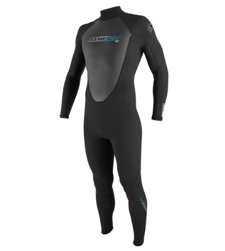 O'Neill Wetsuits Reactor 3/2mm Full Suit, Black, Medium