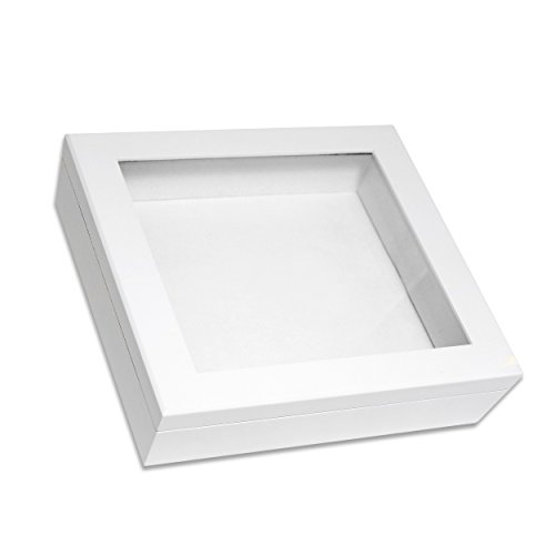 Cathy's Concepts Keepsake Shadow Box, White (Large Shadow Boxes compare prices)