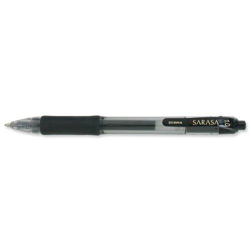 Zebra Sarasa 1.0 Rtr Gel Pen - Negro