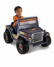 Power Wheels Hot Wheels 6 Volt Ride On - Jeep Lil Wrangler
