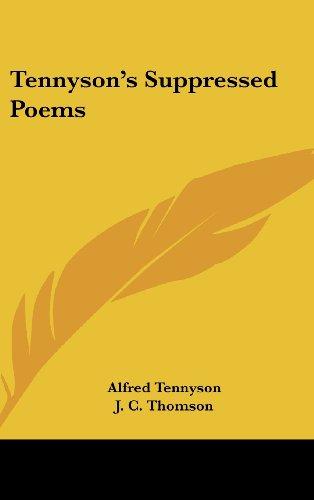 Tennyson's Suppressed Poems