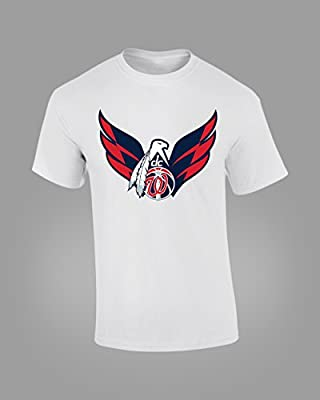 Washington DC Sport Teams Mens White T-SHIRT Redskins Nationals Wizards Capitals