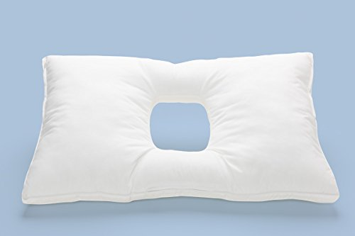 Fully Customizable Orthopedic Pillow. Proper Sleeping Position On Back, Side And Stomach With Comfort. Zippers And Chambers So You Control The Fill Amount. front-15433