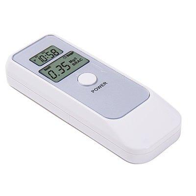 Cheap Digital Alcohol Tester Breath Analyzer with Clock/Alarm (OTH-TR-AL-WHI)