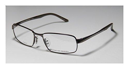 Porsche Design P8212 EyeGlasses 8212 Men frame Dark Brown, Matte Brown 56mm