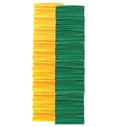 Adult Pinnies 144 Pack Green Yellow (PAC) by SSG