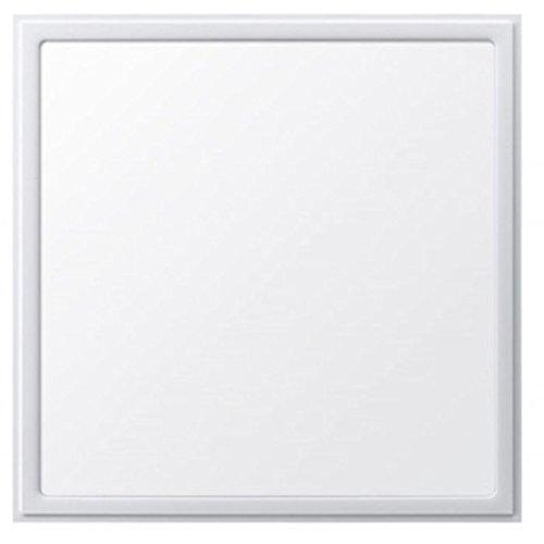 V-TAC LED 45W LED Einbau-Panel oder Hänge-Panel 60cm * 60cm (600mm * 600mm) viereckig 4500K normal weiß. 160° Abstrahlwinkel. 3200Lumen inkl. Befestigungsmaterial zum Hängen liegt bei. Dimmbar und nichtdimmbar anschließbar. Dimmbarer Trafo liegt bei. 80% Energie sparen - auch als Ersatz für Rasterleuchte, Deckenleuchte 4*18W
