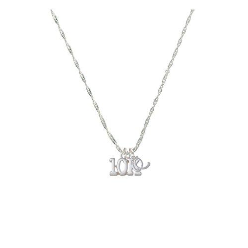 10K Mini Gelato Initial - Q - Grace Necklace